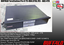 Buffalo Terastation Pro TS-RHTGL/R5 4TB (4x 1TB) NAS server Wiped Tested EC2802