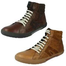 Calzado de hombre botines de piel