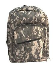 Mochila camuflaje ACU AT Digital 20 litros estilo militar, senderismo Miltec