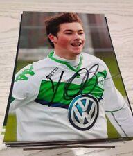 Foto autografiada yari Otto dfb vfl wolfsburg nuevo
