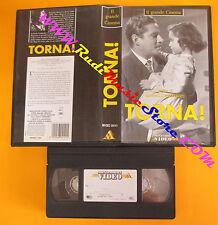 VHS film TORNA! 1993 Raffaello Matarazzo MONDADORI MVGEC 04141 (F119) no dvd