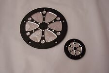 Twin Cam Derby-points cover set Fits Harley Davidson 6 Spoke