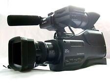 SONY HVR-HD1000E HDV / MiniDV CAMCORDER w LOW HOURS (PAL)