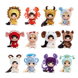 ddung Big Eye Doll w/ the Zodiac Look Aries Taurus Cancer Leo Libra Figure Toy