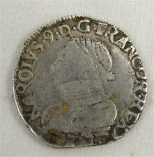 Charles IX, Teston 1569 L Bayonne - REFP109.