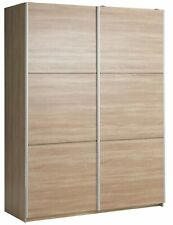 Argos Home Holsted 2 Door Medium Sliding Wardrobe - Oak Effect.