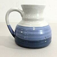 Vtg Clay In Mind Stoneware Travel MUG Pottery NO SPILL Ceramic Cup Coffee Tea