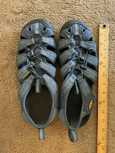 Keen Clearwater CNX Waterproof Shoes Hiking Sandals Blue Men's Size 10.5