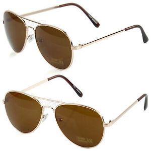 New Fashion Men's  Women's Aviator Sunglasses Metal Frame Retro Vintage Pilot