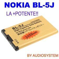 BATTERIA BL-5J DA 2450Mah PER NOKIA ASHA 200 201 302 C3.00 POTENZIATA MAGGIORATA
