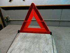 Audi A4 Spare Tire Roadway Sign, Hazard Safety Triangle Folding Stand Placard
