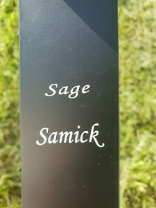 Samick Sage Takedown Recurve Limbs Only