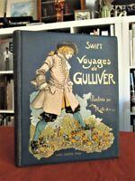 Viajes de Gulliver. Ilustrados por A. ROBIDA 1933