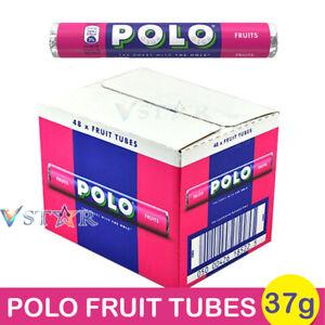 POLO FRUITS SWEETS TUBES 8 /12 /16 /24 & 48 FULL BOX
