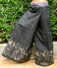 Thai Fisherman Pants * Massage * Sauna *Over Size*black