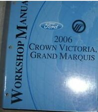2006 FORD CROWN VICTORIA MERCURY GRAND MARQUIS Service Shop Repair Manual OEM
