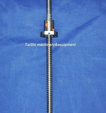 1 backlash ballscrew ball screw RM2005-1100mm-C7 with end-machined for CNC