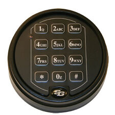 SARGENT AND GREENLEAF S&G 6120 DIGITAL DEADBOLT SAFE LOCK WITH  BLACK KEYPAD
