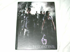 Resident Evil 6 Limited Edition STRATEGY GUIDE Book PS3 XBox 360 player's re vi