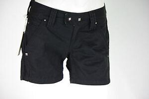 mini short noir femme DIESEL taille jeans W 26 ( T 36 )