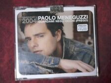 MENEGUZZI PAOLO - GUARDAMI NEGLI OCCHI (PREGO). (3 TRACKS). CD SINGLE.