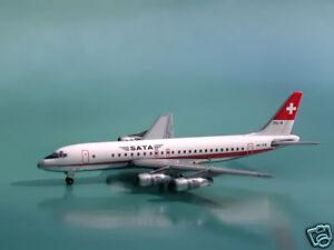 SATA DC-8-50 (HB-IDB) 1:400 Phoenix