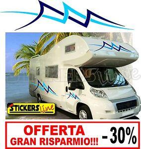 Adesivi camper OCEAN 6 PEZZI prezzo SCONTATO!!! LAIKA RIMOR ELNAGH ARCA e altri
