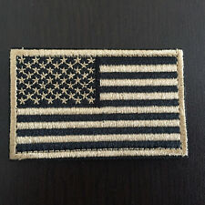 """3*2"""" 3D Embroidery Usa American Flag Badge Patch Us Military Morale Patch"""
