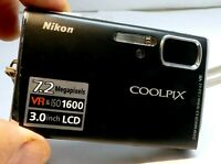 Nikon COOLPIX S50 7MP Digital Camera - Matte black - AS IS AS found parts repair