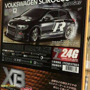 Tamiya 57883 1/10 XB Volkswagen Scirocco - TT01ED Drift Spec 2.4GHz Ready To Run