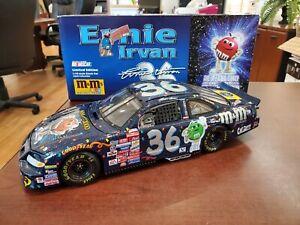 1999 Ernie Irvan #36 M&M's Millennium 2000 1:18 Action NASCAR DieCast
