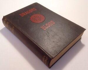 Dragon's Blood, Henry Milner Rideout, 1909, Rare, Illustrated Hardback Book