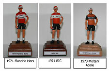 Any 1970's Cycling Team Rider Hand painted figurine  Merckx Thevenet Hinault