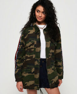 Superdry Womens Lilith Oversized Rookie Overshirt