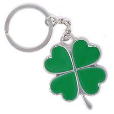 Portachiavi porta chiavi metallo QUADRIFOGLIO auto Alfa Romeo casa buona fortuna
