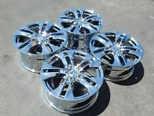 "Set of 4 Chrome 17"" Mercedes Benz E350 Coupe OEM Wheels Rims E550 E400 85123"