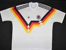 1990-1992 Alemania Adidas Hogar Camiseta de fútbol (talla Xl)