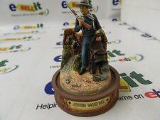 "Rare John Wayne Miniature Figurine Hand Painted ""Western Legend"""