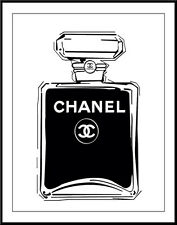 Haute Couture Chanel #125 Pop Art Canvas 16 x 20  #8808