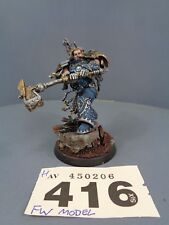Warhammer Space Marines Forge World Ferrus Manus Primarch of the Iron Hands 416