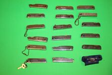 Vintage Lot Of 18 Trim Trio & Other Tool Knife Nail File Bottle Opener