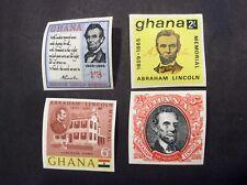 Ghana #208-#211, Mint, NH, OG, Imperf.