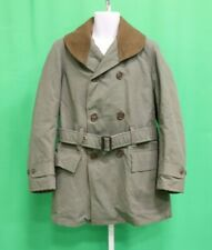 WWII US Army Olive Drab OD Cold Weather Coat 38 40