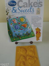 EAGLEMOSS DISNEY CAKES & SWEETS WINNIE THE POOH CHARACTER MOULD   No 76  NEW