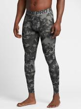 Mens Nike Pro Hypercool Digi Camo Compression Tights 932421-037 Grey New Sz  L
