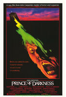 PRINCE OF DARKNESS & VAMPIRES MOVIE POSTER 27x41 Originals JOHN CARPENTER HORROR