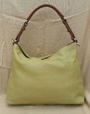 Barr & Barr New York Handbag Green Pebble Leather Cross Body Hobo Purse