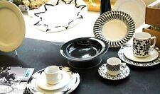 Piatti da cucina nero in porcellana