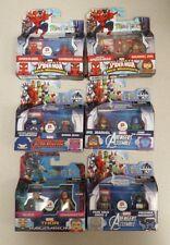 Minimates Marvel - Spiderman, Avengers, Thor -Walgreens Exclusive -Lot of 6-NEW