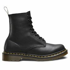 Dr. Martens Pascal Womens Black Leather Casual Dress Lace up BOOTS Shoes US UK 4